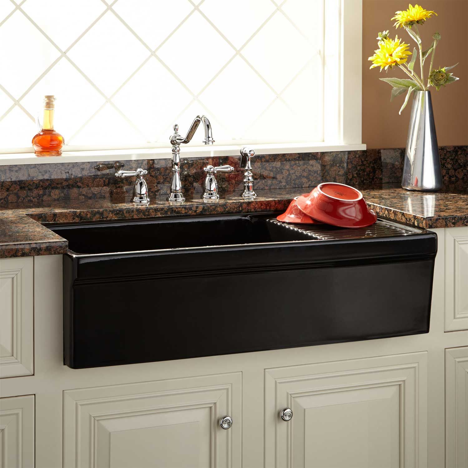 36 Aulani Italian Fireclay Farmhouse Sink with