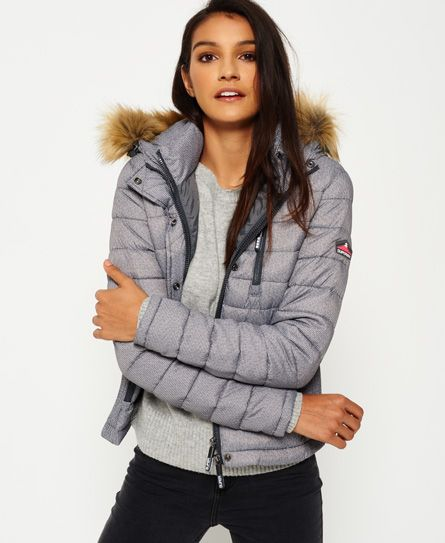 the latest 4f2e6 2383f Superdry Fuji Slim Double Zip Hooded Jacket | Parkas 2018 ...