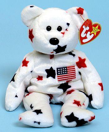 Glory - bear - Ty Beanie Babies  2bafb5482a13