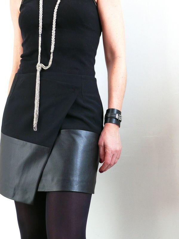 Une jupe asymétrique comme Vanessa B. - Bee made | Pinterest | Nähen ...