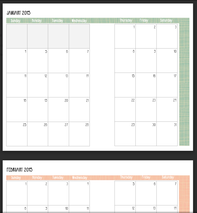 A Little Wife's Happy Life: How I Use My Calendar Pages: Planning Binder {Free Printables!}