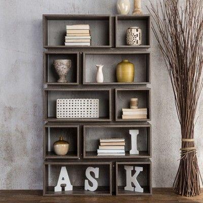 65 25 willett contemporary decorative display cabinet distressed rh pinterest com