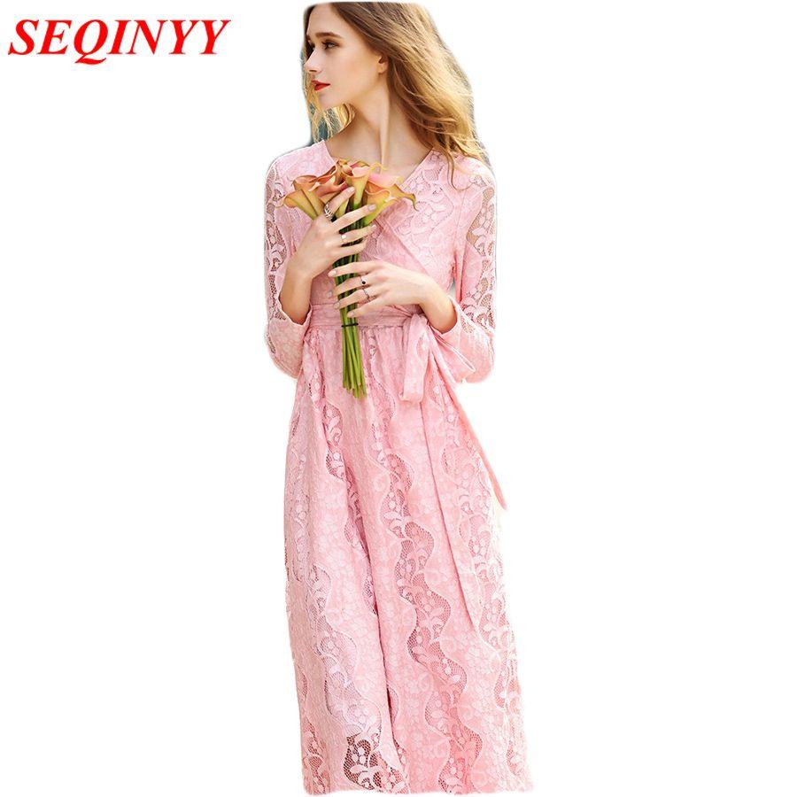 Casual brief long dress female spring summer long sleeve mesh