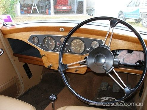 Image result for 1949 rover interior | 49 Rover - pics for ...