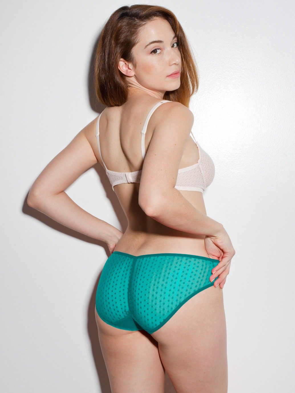 Lesbian panty ass