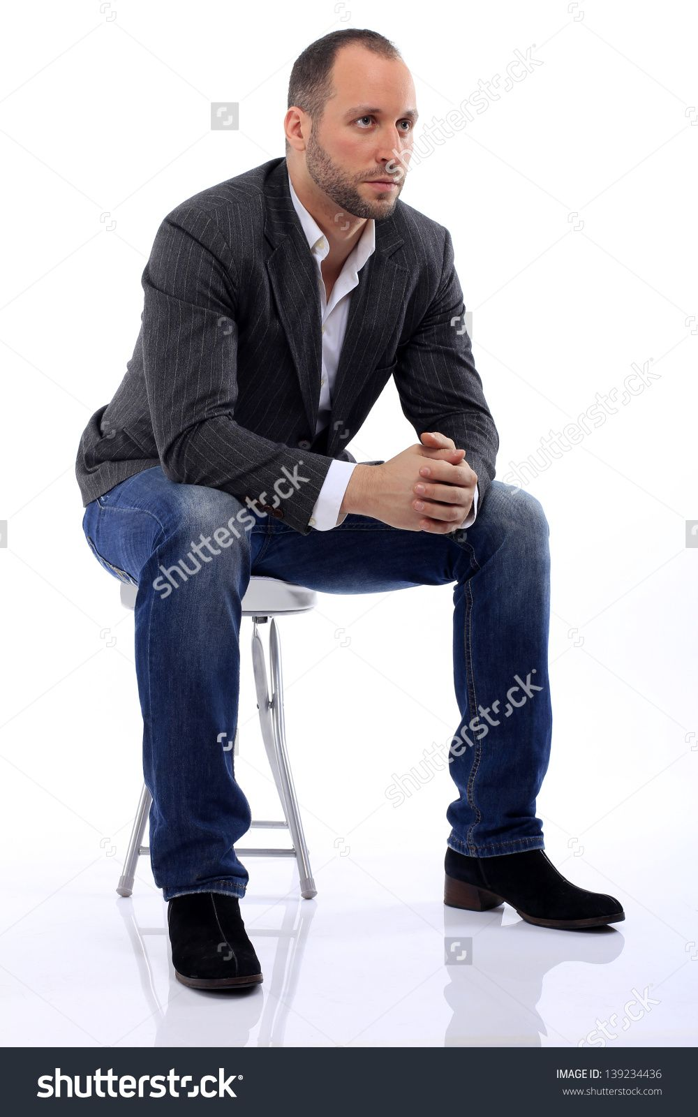 It's just a picture of Peaceful Male Sitting Poses Drawing