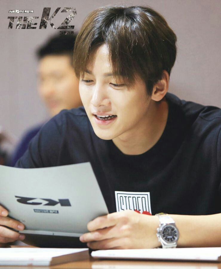 Ji chang wook & the Cast of the First Script reading session of tvN drama The K2