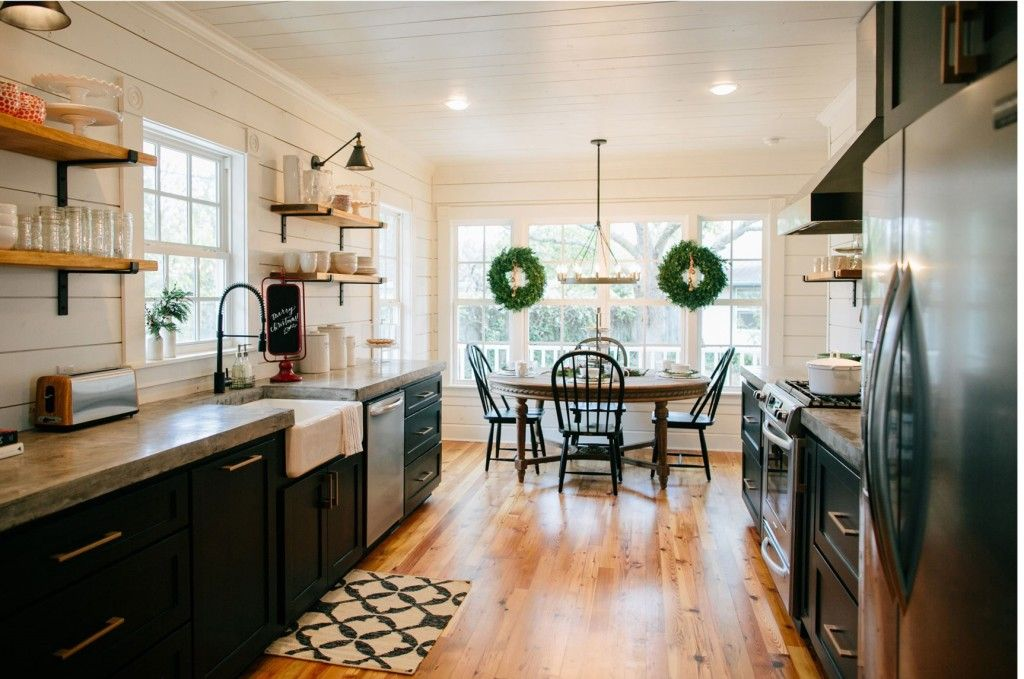 Get the look: Fixer Upper B&B Farmhouse Kitchen - House of Hargrove ...