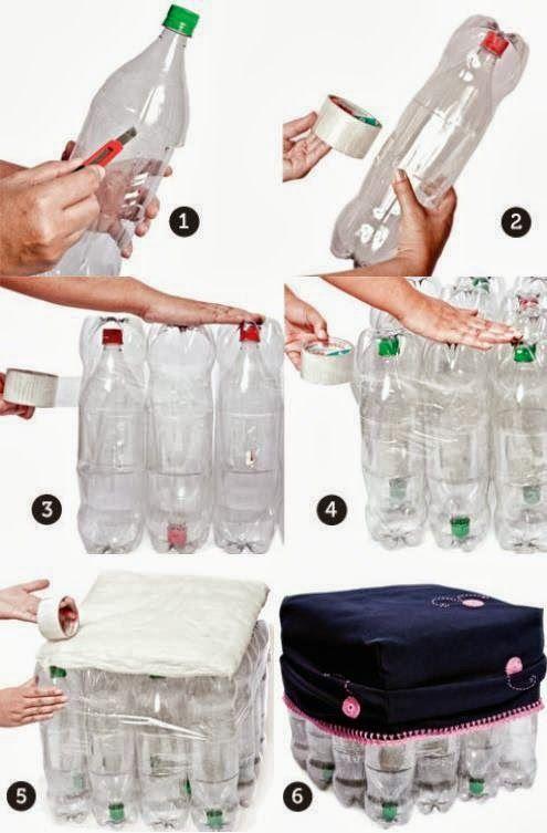 Asientos Con Botellas De Plastico Garrafas Pet Garrafas