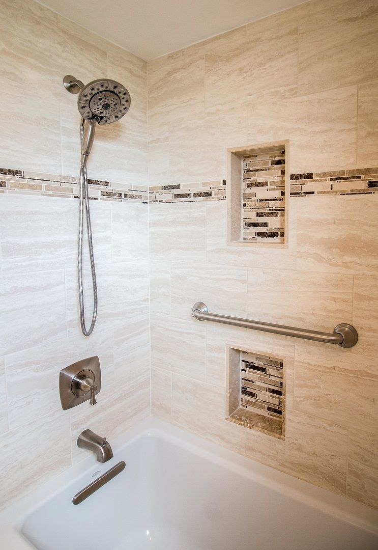 Kohler Archer Bathtub Luxart Poydras Tub Shower Trim With - Decorative tile trim in shower