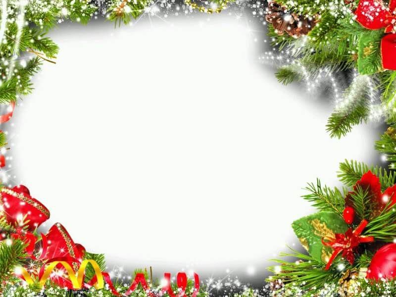 Navidad con luces marcos pinterest luces navidad y - Marcos navidad fotos ...
