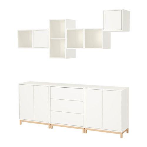 EKET Cabinet combination with legs, white Storage, Ikea eket and - küchen unterschrank ikea