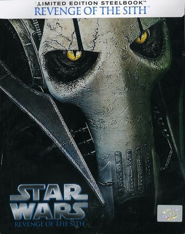 Star Wars Episode Iii Revenge Of The Sith Steelbook Blu Ray Brand New Star Wars Episodes Star Wars Fan Art Sith
