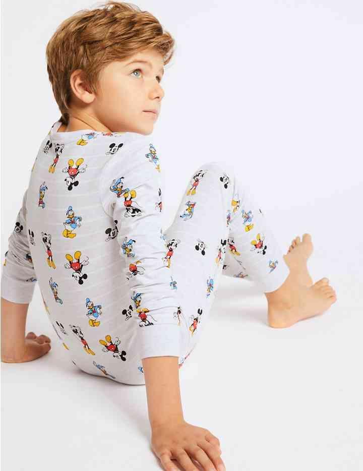 Mickey Mouse™ Pyjamas with Stretch (1-16 Years) Boys Pajamas b9cf99dd1