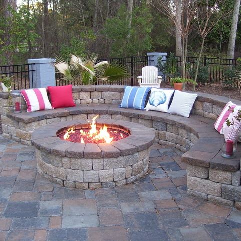 Eclectic Stamped Concrete Patio Patio Design Ideas Pictures