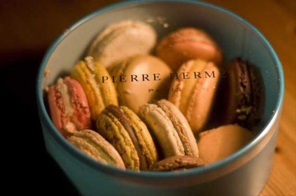 Box of macarons