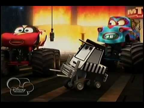 Monster Truck Mater Monster Trucks Mater Cars Youtube