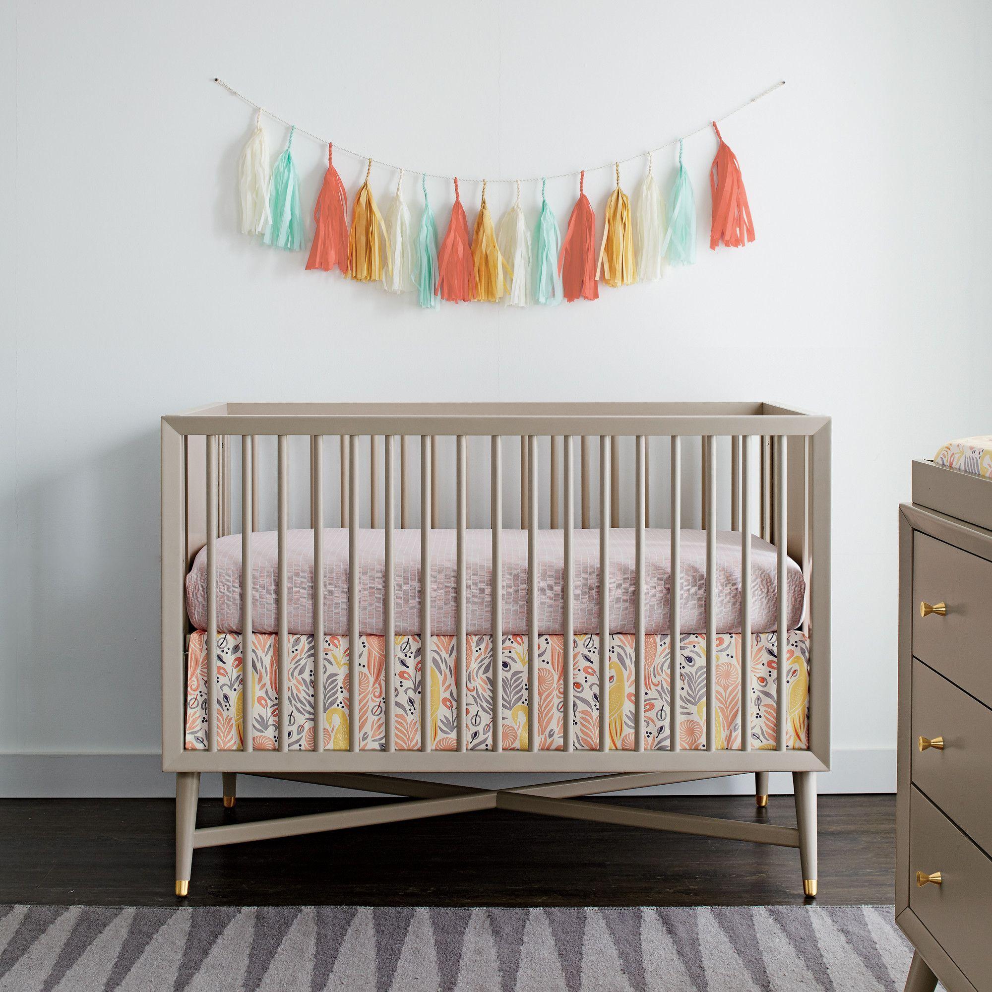 Mcpartland 3 In 1 Convertible Crib Cribs