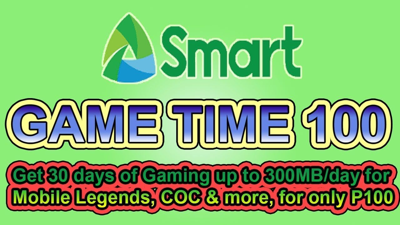 How To Register Game Time 100 Using 123 On Mobile Phone Smart Networ Register Games Game Time Games