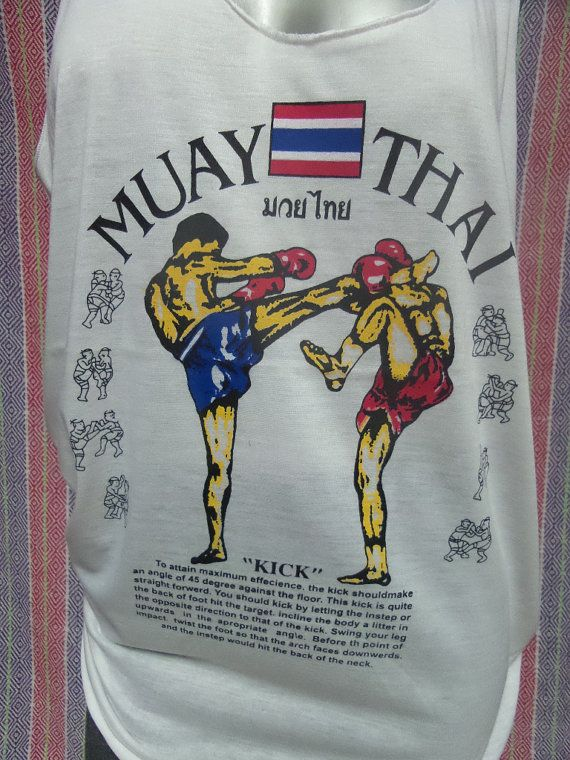 Muay Thai Boxing Martial Arts fighter warrior Tank by LoveLikeShop