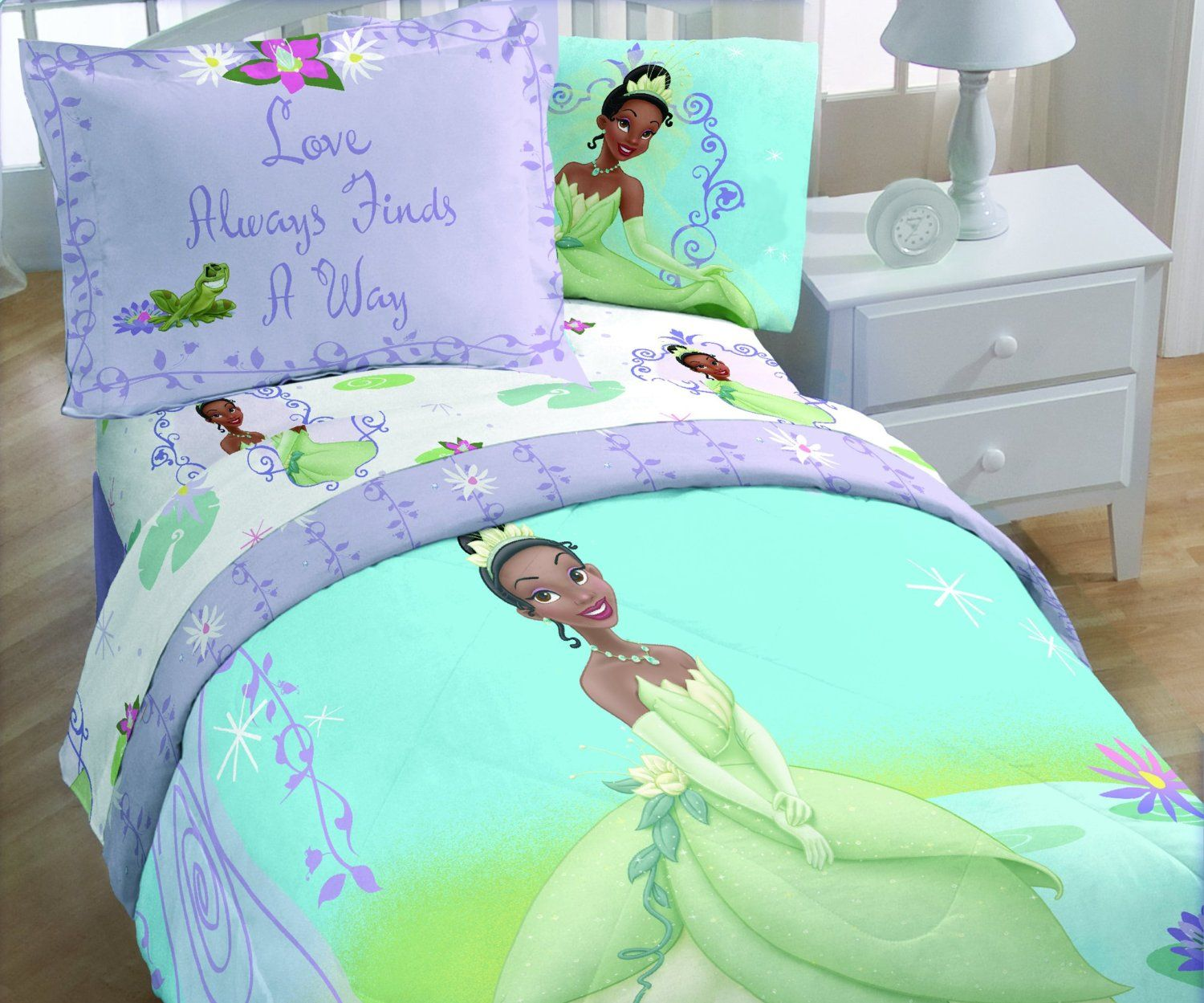 Princess Tiana Bedroom Set Abbys Room Princess Toddler