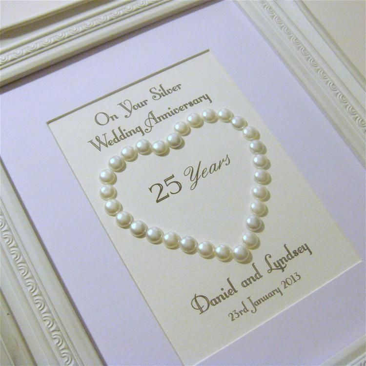 Ideas For Pearl Wedding Anniversary Gifts: Silver Wedding Gifts Ideas