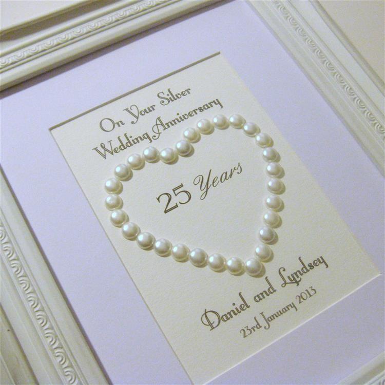 Silver Wedding Gifts Ideas | 25th anniversary | Pinterest ...