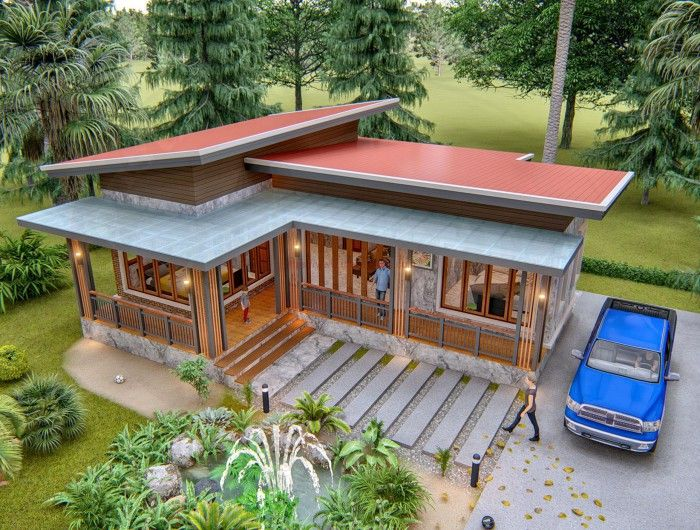 Best House Plans Idea 12X12 5 With 2 Bedrooms One Storey 400 x 300