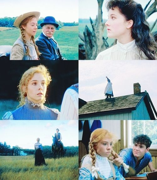 Anne Of Green Gables 1985 Starring Megan Follows As Anne