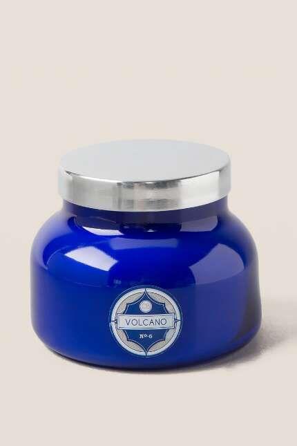 Capri Blue 20oz White Signature Jar Volcano