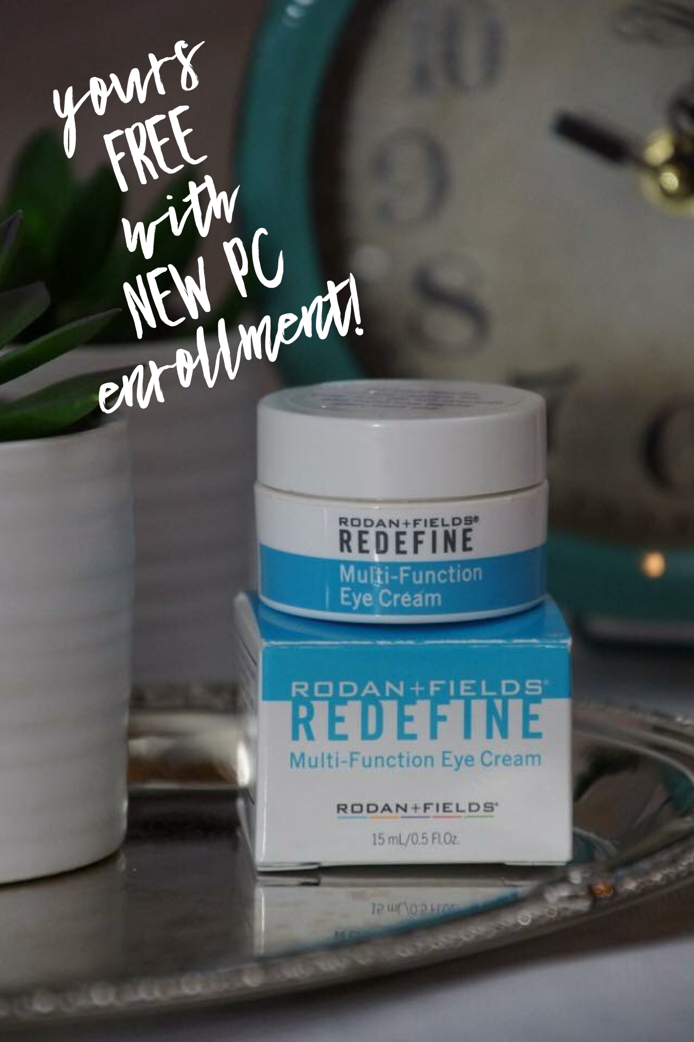 Free Eye Cream When You Sign Up As My New Pc From Now Through