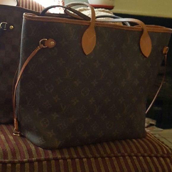 Louis Vuitton Neverfull Mm Monogram Neverfull Mm Monogram Louis