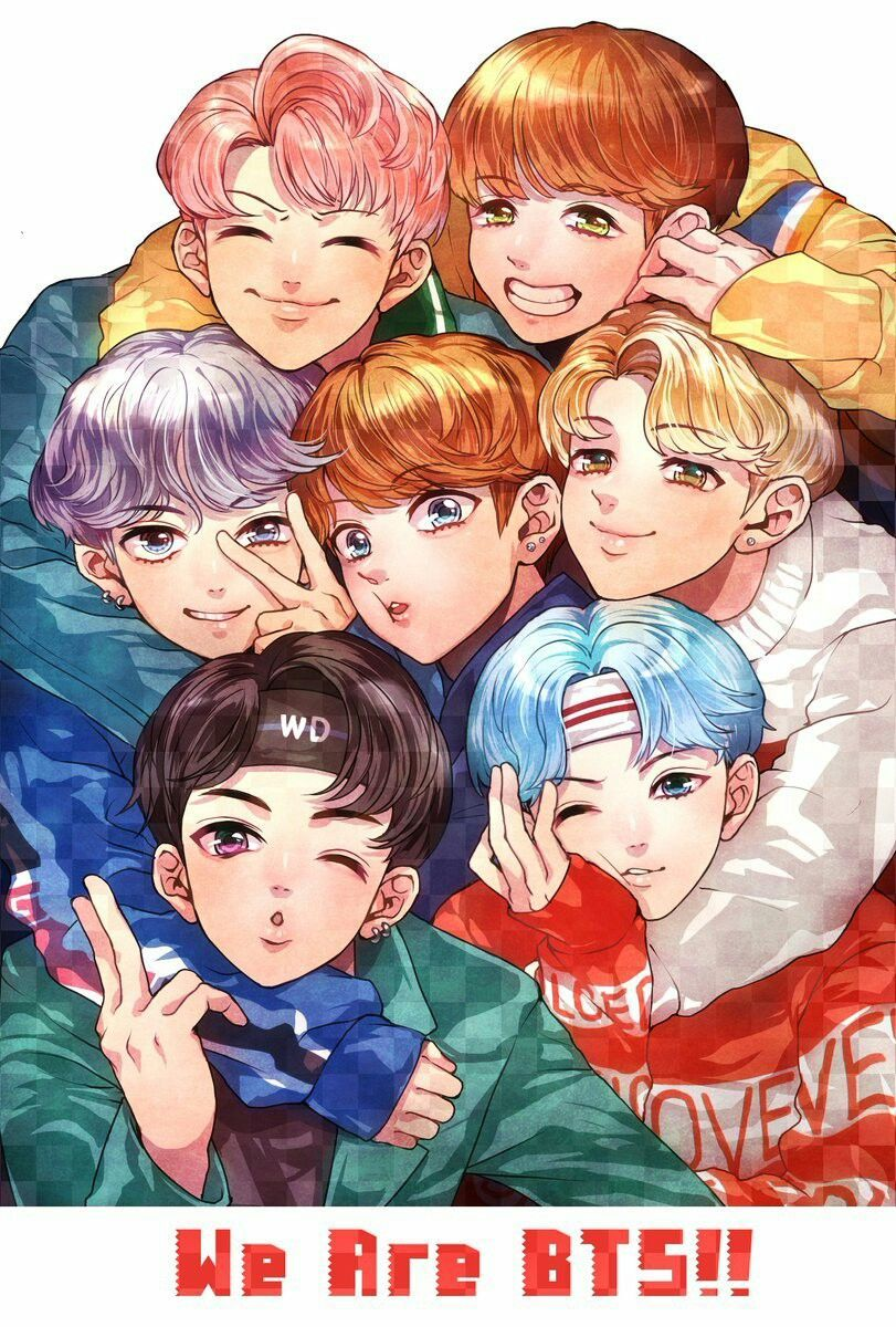 We Are BTS fanart Google Search Bts fanart, Bts