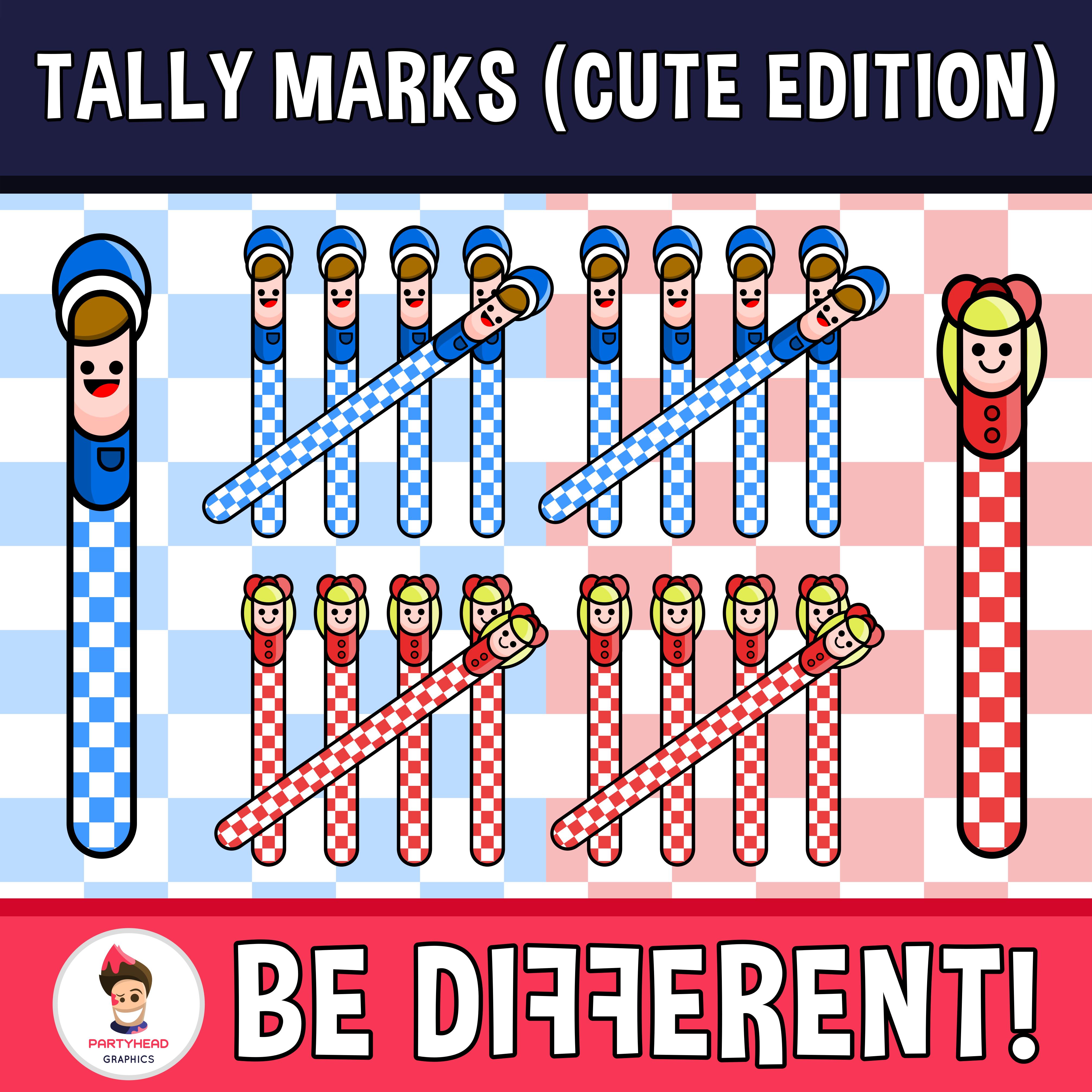 Tally Marks Clipart Cute Edition Tally Marks Clip Art Marks