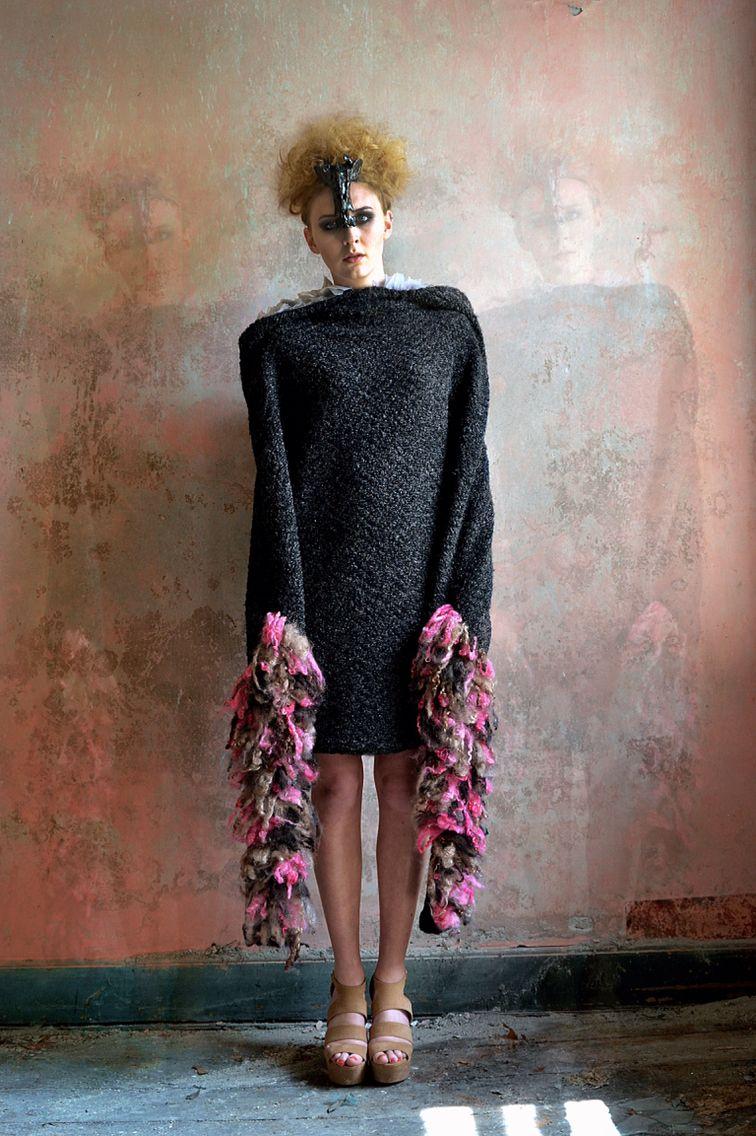 Designer: Roisin Lawrence  Wensleydale Wool jumper