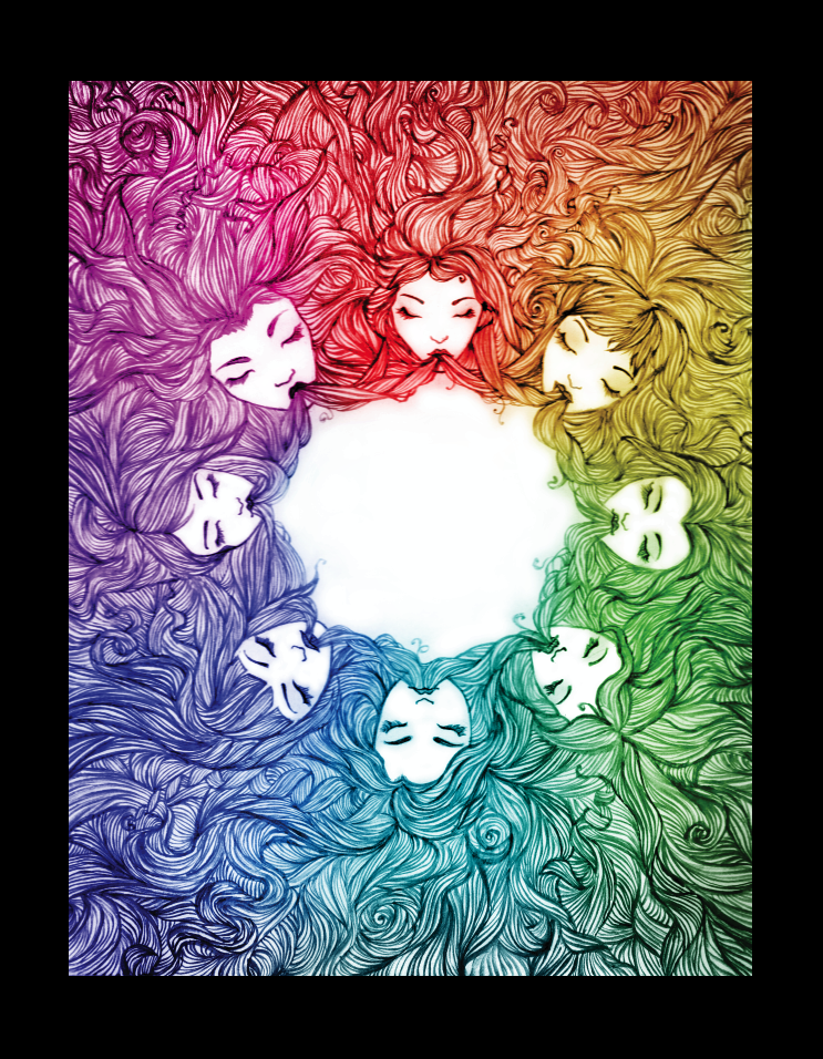 Color Wheel Project By Tyleramato On Deviantart Art Color Wheel