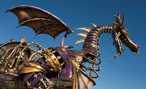 The Maleficent Dragon