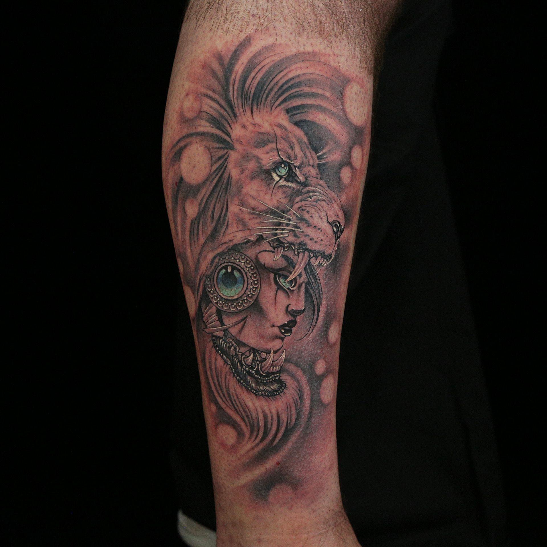 Tattoo by Daniel Silva Ink master tattoos, Black and