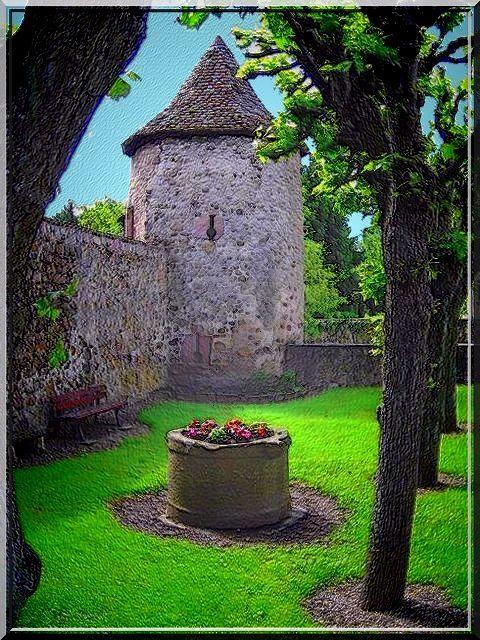 Cimetière fortifié de HARTMANNSWILLER Pinterest Castles, Alsace