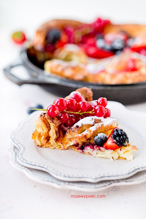 Dutch Baby with fruits | My pastries | Easy desserts