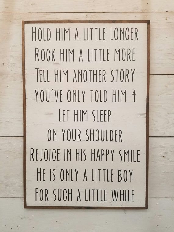 little boy 2 x3 distressed farmhouse style framed sign boys rh pinterest com