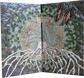 Paper art by Dutch artist Katja Berkenbosch