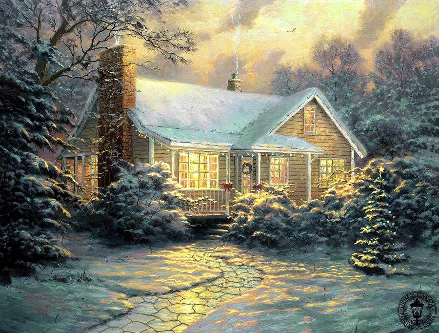 Днем моряка, рождественские картинки американских художников