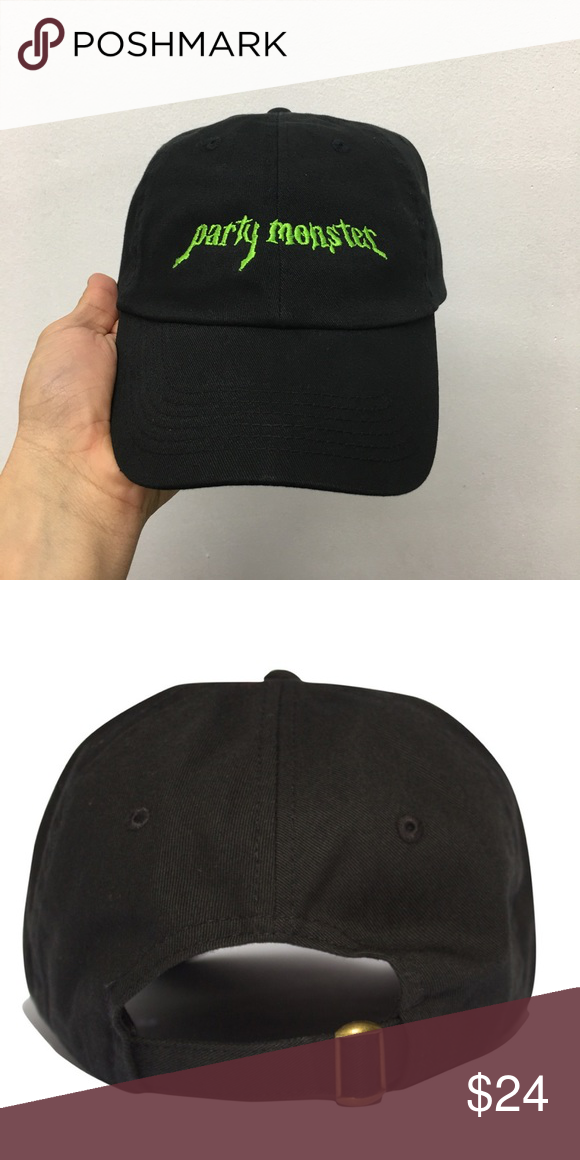 THE WEEKND PARTY MONSTER DAD HAT Brand new item Accessories Hats ... 22361689b82