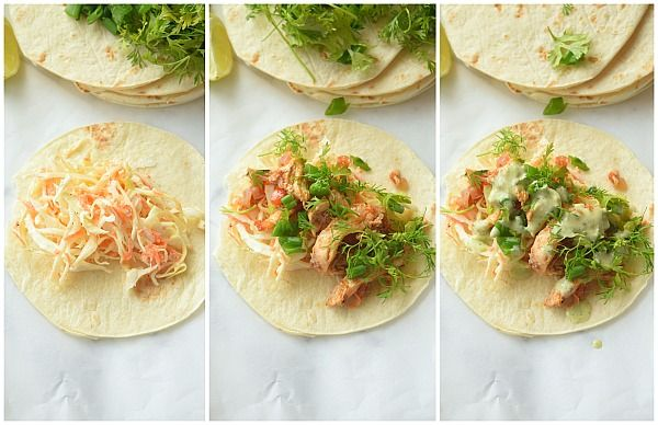 Shredded Chicken Taco #shreddedchickentacos