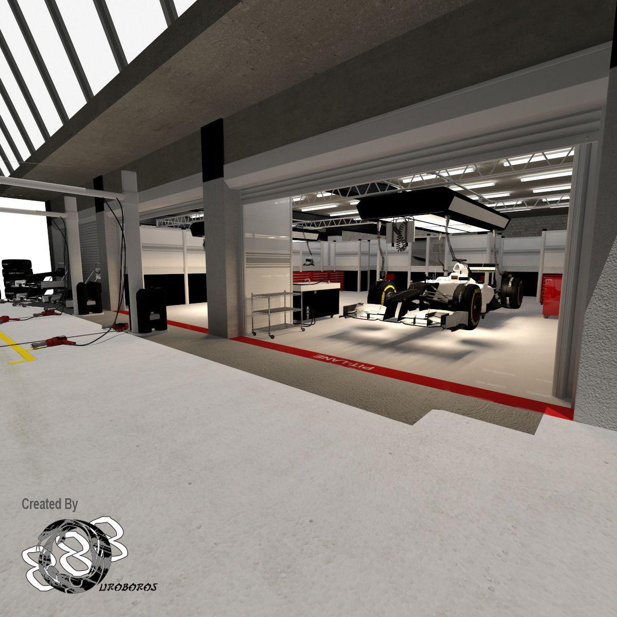 3d Pit Garages Garagem