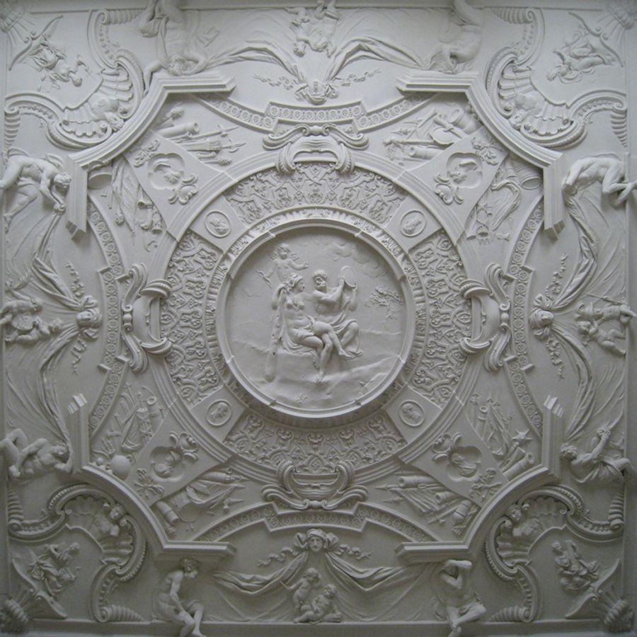 Decorative Plaster Ceiling Clandon Park Architectural