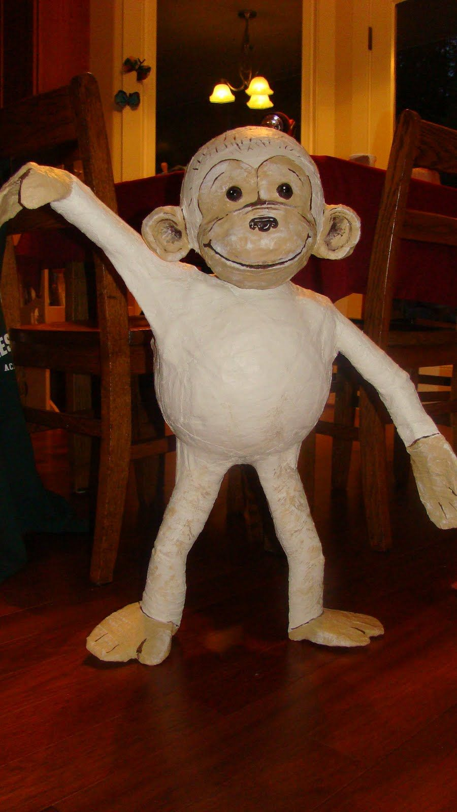 Monkey Made From Paper Mache Поиск в Google Monkey