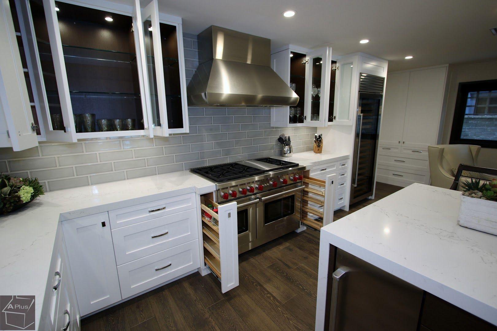 #whitecabinets #KitchenRemodel in Newport Beach #OrangeCounty