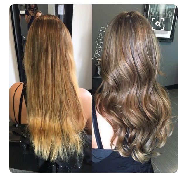 Bronze Blonde Cooler Ash Brown